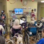 Peragaan Tarian Jepang oleh Siswi Program Caregiver LPK Aoisora Sinar Indonesia