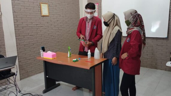 Sosialisasi Pencegahan Covid-19 di LPK Aoisora Sinar Indonesia